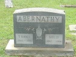 Mary Eliza Molly <i>Letson</i> Abernathy