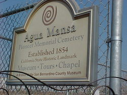 Agua Mansa Cemetery