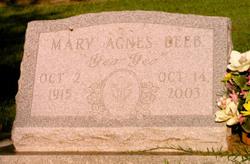 Mary Agnes Deeb