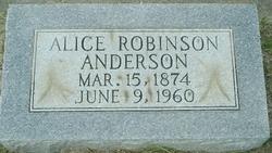 Alice <i>Robinson</i> Anderson