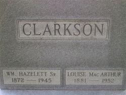 William Hazelett Clarkson