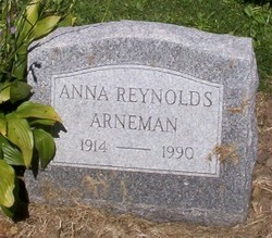 Anna <i>Reynolds</i> Arneman