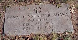 Edna <i>Dunstadter</i> Adams