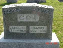 Caroline <i>Smith</i> Cox