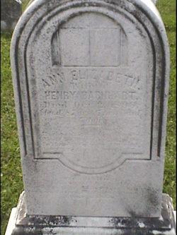 Ann Elizabeth <i>Baker</i> Barnhart