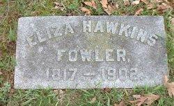Eliza <i>Hawkins</i> Fowler