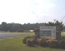 Barton Memorial Chapel Pentecostal Church Cemetery
