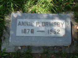 Annie Perry <i>Findlay</i> Ormsby