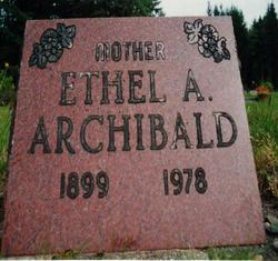 Ethel Arlie <i>Gorrie</i> Archibald