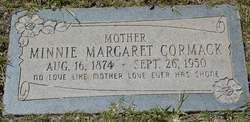 Minnie Margaret <i>Wilson</i> Cormack