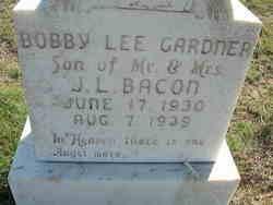 Bobby Lee Gardner Bacon