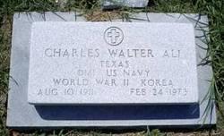 Charles Walter Chuck Ali