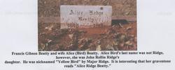 Alice Bird <i>Ridge</i> Beatty