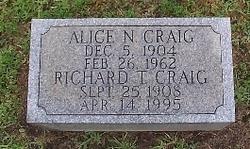 Alice <i>Neukamp</i> Craig