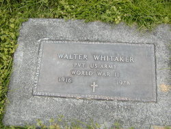 Walter Whitaker