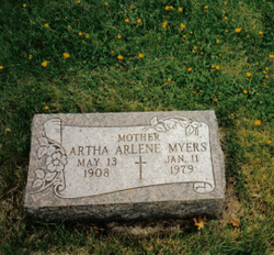 Artha Arlene <i>Fisher</i> Myers