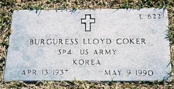 Burguress Lloyd Coker