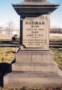 Thomas Jackson Rodman