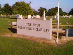 Little River-Wilson Valley Cemetery