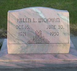 Helen <i>Leavitt</i> Wickham