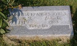 Martha Frances Ayres