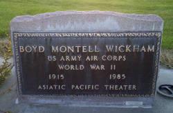 Boyd Montell Wickham