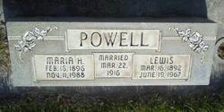Maria Obray <i>Housley</i> Powell