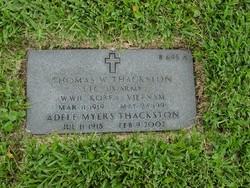 Adele <i>Myers</i> Thackston