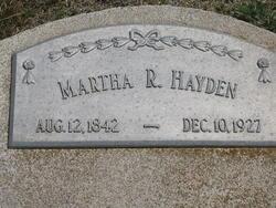 Martha R Hayden