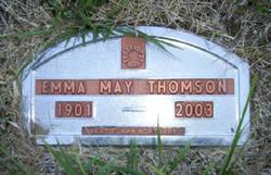 Emma May <i>Aldridge Siddoway</i> Thomson