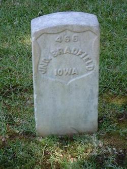 Pvt John Bradfield