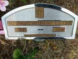 Alma L. <i>Crumpton</i> Maxey