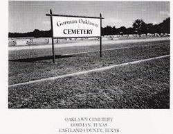 Gorman Cemetery