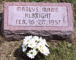 Marlys Marie Albright