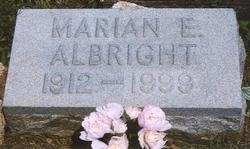 Marian Elizabeth <i>Parker</i> Albright