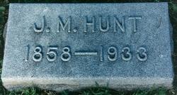 Jasper Marion Hunt