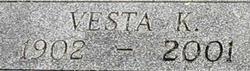 Vesta <i>Keller</i> Borthick