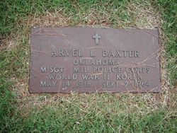 Arvel L Baxter
