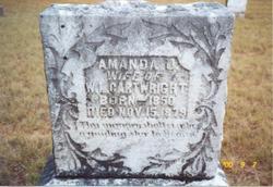 Amanda Jane <i>Wallace</i> Cartwright