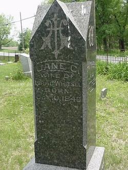 Jane <i>Carr</i> Whitsel