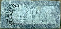 Mary E Riley