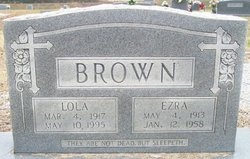 Lola M. <i>Butler</i> Brown