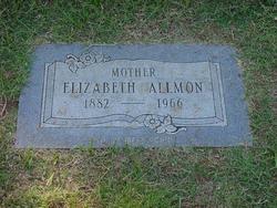 Elizabeth <i>Cowan</i> Allmon