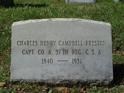 Charles Henry Campbell Preston