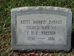 Kitty Morris Dabney Preston