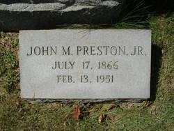 John M. Preston, Jr