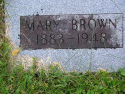 Mary Maude <i>Hyder</i> Brown
