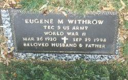 Eugene Merine Withrow