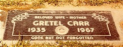 Gretel <i>Strack</i> Carr