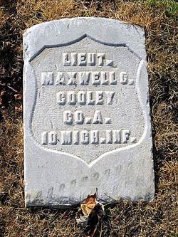 Lieut Maxwell G. Cooley